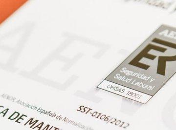 EMESA ha recibido la certificación de AENOR por suSistema de Gestión de la Seguridad Vial.
