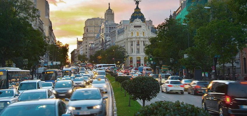 Cars that will not be able to transit in Madrid