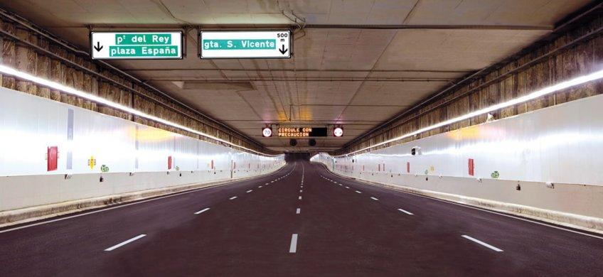 inspeccion estructural tuneles m30
