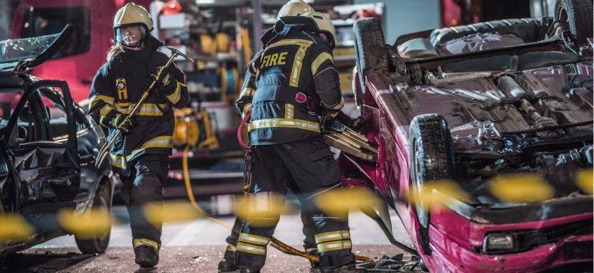 hojas de rescate servicios de emergencia