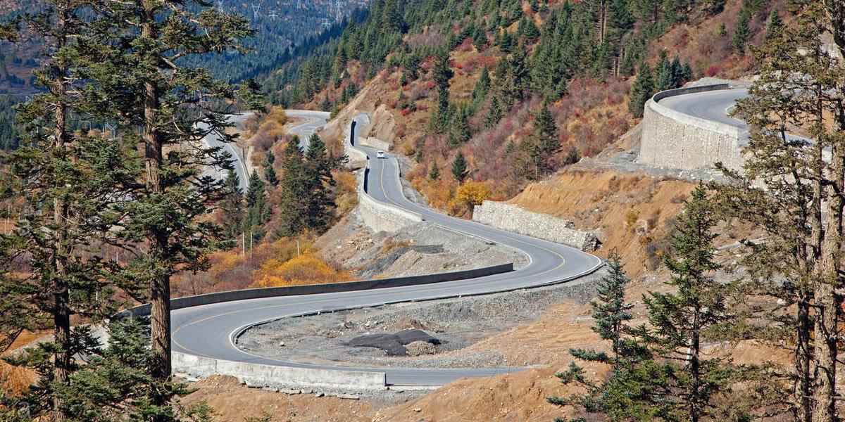 Carretera de Sichuan - China