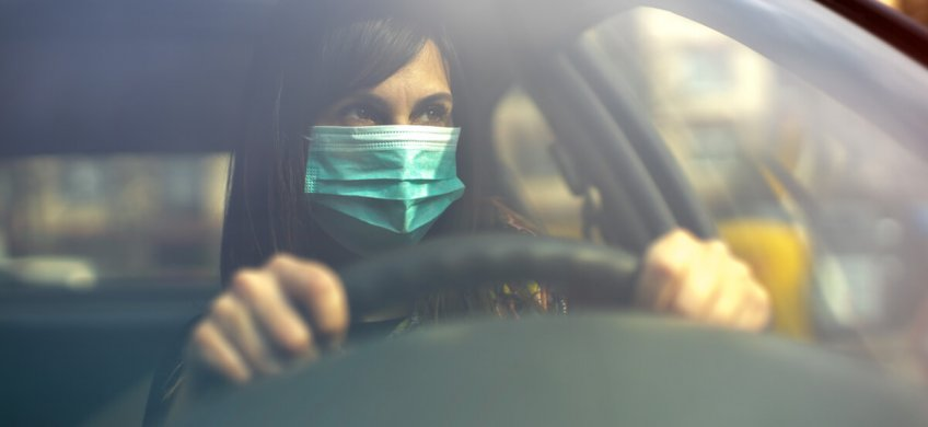 Conducir Coronavirus