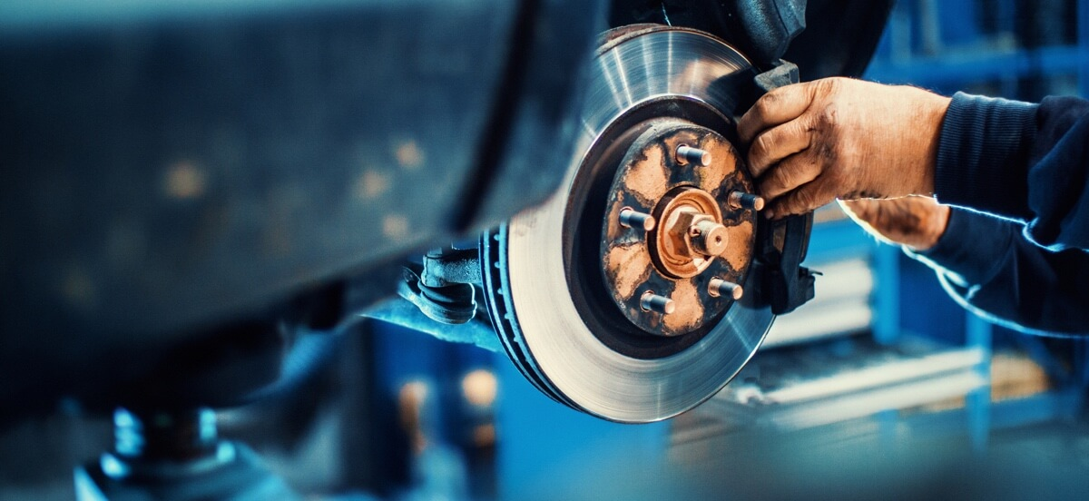 detect uneven braking disc thickness